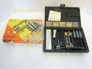 Vintage Microflame 4400 Butane Gas Welding Torch Kit