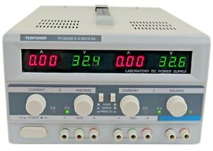 Tekpower Tp3005d 3 Digital Variable Triple Outputs Dc Power Supply 30v 5a
