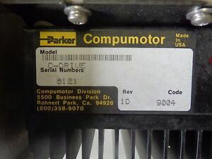 Parker Compumotor C drive Stepper Motor Assy W 2 C drives 2p Pulse Rd 023