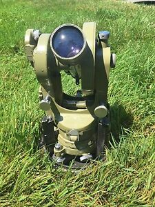 Wild Heerbrugg T16 Theodolite Rds Self reducing Tachometer Used