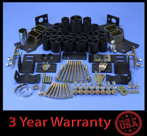 2001 2002 Silverado Sierra 1500hd 2wd 4wd 3 Full Body Lift Kit Front Rear