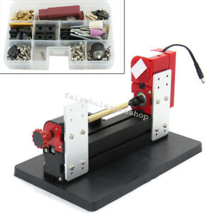 Us 6in1 Jigsaw Milling Lathe Drilling Machine Wood metal acrylic Model Diy Tool
