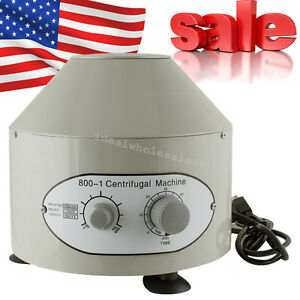 4000r min Electric Centrifuge Industry Machine Lab Medical Practice 20 Ml X6