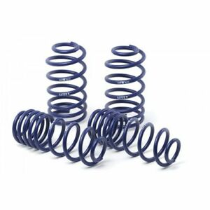 H r 51690 Sport Lowering Coil Spring For 2011 Ford Mustang gt convertible V6 v8