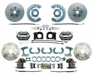 64 73 Ford Mustang 63 69 Falcon 64 69 Fairlane Front Rear Disc Brake Kit 9