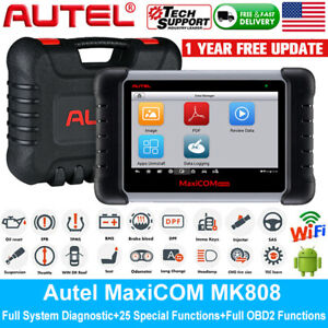 Autel Maxicom Mk808 Mx808 Obd2 Diagnostic Scanner Tool As Maxidas Ds808 Ds708