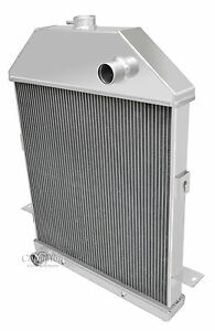 1941 Ford Pickup Truck W ford V8 Champion 3 Row Aluminum Dr Radiator