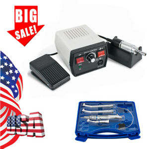 Usa Dental Marathon Micro Motor Polishing 35k High Low Speed Handpiece Kit 2h