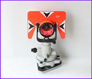 New Red Prism Tribrach Set System For Nikon Pentax Total Stations 30 0mm Offset