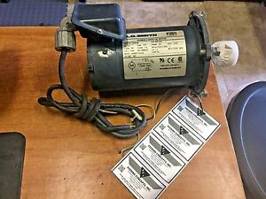 A o Smith 1725prm 1 3hp 56c Frame Variable Speed Dc Motor 22254900 90 130vdc