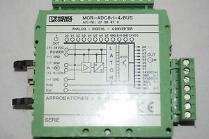 Phoenix Contact Mcr adc8 i 4 bus Analog To Digital Converter
