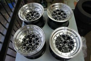 For Mx5 Miata Ae86 Ta22 Jdm Drag Style Racing 13 Rims Wheels Weld Staggered