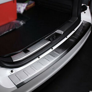 1x Car Stainless Rear Bumper Protector Sill Plate Cover For Ford Edge 2007 2014