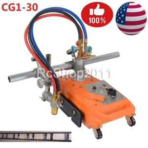 Torch Track Burner Cg1 Gas Cutting Machine Cutter With 1 8m Rail Rack Us Ship