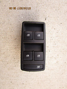 11 13 Buick Regal Base Cxl Gs Turbo Master Power Window Switch Black 20830838