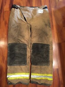 Firefighter Turnout Bunker Pants Globe 40x30 2003 Halloween Costume