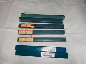Ertco Usa Specific Gravity Lot Of 7
