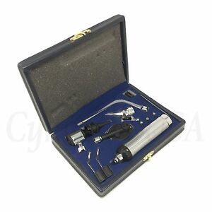 Otoscope Ophthalmoscope Set Ent Surgical Instruments Cynamed Brand
