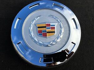 1 Pcs 2007 2014 Cadillac Escalade Colored Crest 22 Wheel Center Cap 9596649