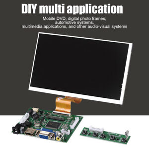 Hdmi Vga Av Driver Board 7 1024x600 Tft Display Screen Kit For Raspberry Pi2 3