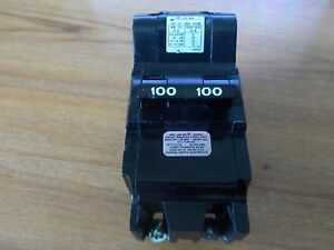 Reconditioned Nb2100 Federal Pacific Fpe 100 Amp Main Breaker Bolt on Type Nb