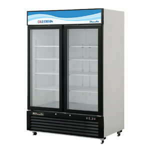 Blue Air Bkgf49 Freezer Glass Door Merchandiser Swing Door True Commercial