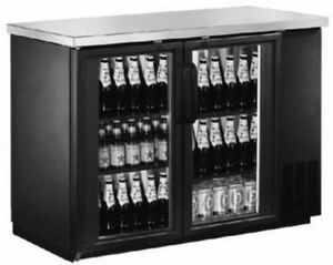 Saba Air Back Bar Glass Door Bottle Cooler Stainless Steel 48 60 Or 72