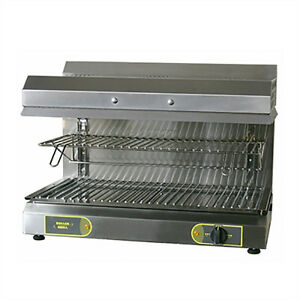 Equipex Sef 80q 32 Electric Salamander Broiler 208v 3ph 5000w