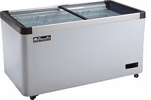 Blue Air Bacf15 Two Slide Door Chest Ice Cream Freezer 50 Inches