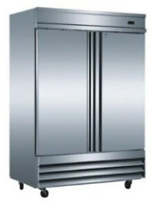 Saba Air St 47r 2 Solid Door Reach In Refrigerator Or Freezer St 47f