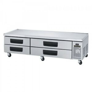 Blue Air Bacb86m 86 inch Refrigerated Equipment Stand Chef s Base 4 Drawers