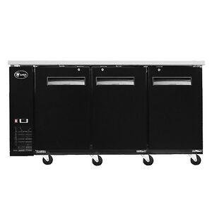 Saba Air Back Bar 27 Solid Door Bottle Cooler Stainless Steel Top 58 69 Or 90