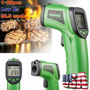 Lot 20x Infrared Temperature Gun Non contact Ir Laser Lcd Digital Thermometer To