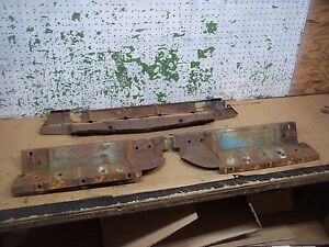 1949 Dodge Pickup Front Inner Fender Brackets Braces Panel 1948 1950 Truck F