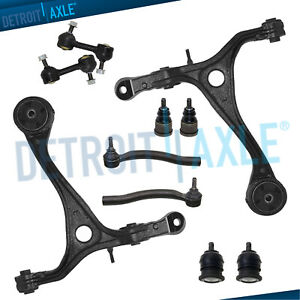 Honda Accord Acura Tsx 10pc Lower Control Arm Ball Joint Sway Bar Tie Rod Kit