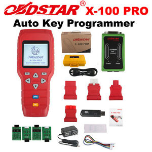 Obdstar X 100 Pro Auto Programmer Tool C D Type For Immo Odometer Obd Software