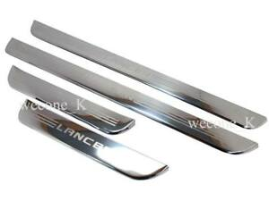 Door Sill Stainless Scuff Plate For Mitsubishi Lancer Mirage Ck2 1996 2002