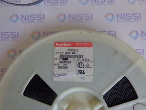 Raychem Smd250 2 Resettable Fuses Pptc 2 5a 15v 40a Imax