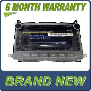 New 09 2010 2011 Toyota Venza Radio Mp3 Mp 3 Wma Aux Cd Disc Player A518ad 2009