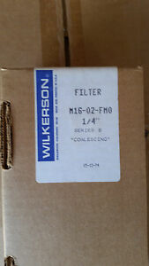 Wilkerson Filter M16_ 02_fmo 1 4 Series B Coalescing