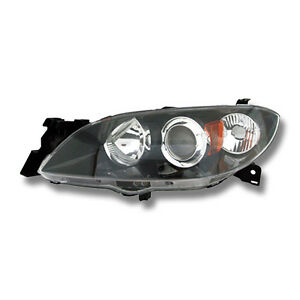 Fits 2004 2009 Mazda 3 Sedan Driver Left Side Headlight Lamp Assembly Lh