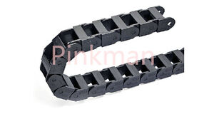 1000mm Cable Drag Chain Wire Carrier 25x57mm _reinforced Nylon Pa66