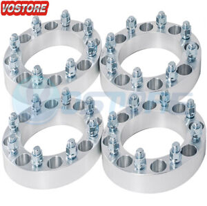 4 1 5 8 Lug Wheel Spacers Adapter 8x6 5 For Chevy Silverado 2500hd Gmc C2500
