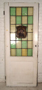 Single Vintage American Stained Glass Door 08108 Ns