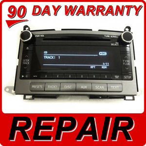 Repair Service Only Toyota Venza Radio Cd Player Bluetooth Mp3 A518ac A518ad Oem