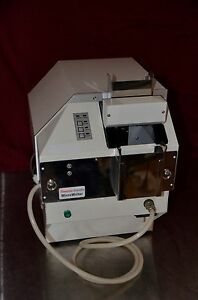 Thermo Shandon Lamb Microwriter Slide Labeler E22 01mws With Dust Extractor
