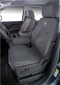 Ford Superduty 2011 16 Pickups Covercraft Carhartt Gray Seat Cover ssc3415cagy