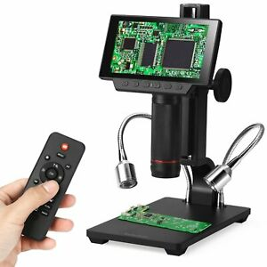 5 Lcd 1080p Wireless Digital Microscope 560x Magnification Hdmi av usb Output