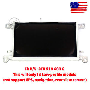 Oem Mmi Lcd Display Monitor Screen Info Dash Radio For Audi A4 S4 B8 A5 Q5 08 15