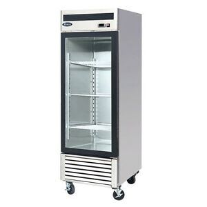 Atosa Mcf8701 27 Glass Door Freezer 1 Door Commercial Freezer Merchandiser